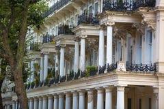 Жилая ария Mayfair со строкой периодических зданий Роскошное свойство в центре Лондона стоковое фото rf