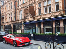 Mayfair shops in London Stock Images