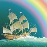 Mayflower Royalty Free Stock Photo