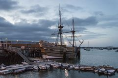 Free Mayflower At Dusk Royalty Free Stock Photos - 108779608