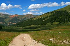 Mayflower Gulch Stock Image