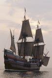 Mayflower II复制品 免版税图库摄影