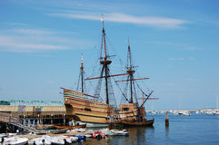 The Mayflower II Stock Image