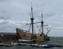 Mayflower II fotos de archivo libres de regalías