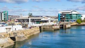 Mayflower Kroczy Plymouth Zdjęcia Stock