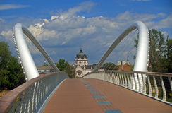 Mayfly Bridge, Szolnok, Hungary Royalty Free Stock Images