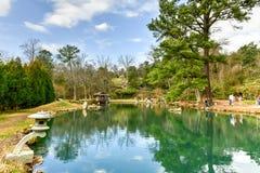Maymont japanträdgård - Richmond, Virginia Arkivbilder