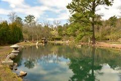 Maymont japanträdgård - Richmond, Virginia Arkivbild