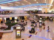 Maynard Jackson internationell terminal på den Atlanta flygplatsen, USA arkivbilder