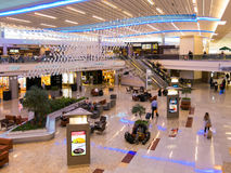 Maynard Jackson międzynarodowy terminal na Atlanta lotnisku, usa obrazy stock