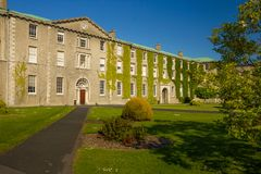 Maynooth University. county Kildare. Ireland. Maynooth University. Facade to St. Joseph square. Maynooth. county Kildare. Ireland Stock Photo