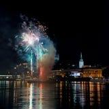 Mayo-fiesta en Bratislava, Eslovaquia Imagen de archivo