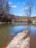 Mayo River chez Mayo River State Park images libres de droits