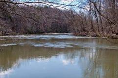 Mayo River chez Mayo River State Park photo stock