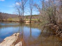 Mayo River chez Mayo River State Park image stock