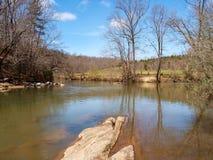 Mayo River chez Mayo River State Park photos stock