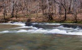 Mayo River chez Mayo River State Park photos libres de droits