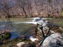 Mayo River chez Mayo River State Park photo libre de droits