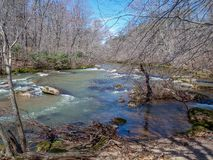 Mayo River chez Mayo River State Park photographie stock