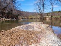 Mayo River em Mayo River State Park imagens de stock royalty free