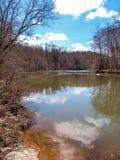 Mayo River em Mayo River State Park imagens de stock