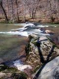 Mayo River em Mayo River State Park fotos de stock