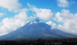 mayon火山 图库摄影
