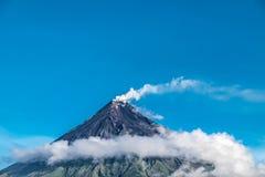 Mayon Vocalno in Legazpi, Philippinen Lizenzfreies Stockfoto