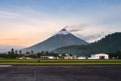 Mayon Vocalno in Legazpi, Philippinen Stockfoto