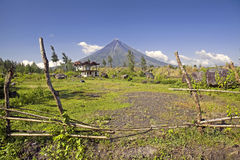 Philippines - Mayon Volcano Royalty Free Stock Photo
