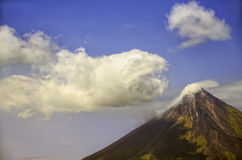 Mayon Volcano Royalty Free Stock Images