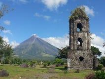 Mayon vulkan Royaltyfri Fotografi