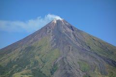 Mayon vulkan Arkivbilder