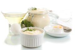mayonesa Imagen de archivo libre de regalías