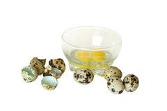 Mayonesa de los huevos de codornices foto de archivo