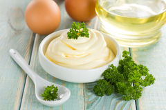 Mayonnaise Royalty Free Stock Photography