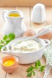 Mayonnaise Stock Photo