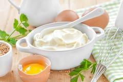 Mayonnaise Royalty Free Stock Image