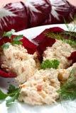 Mayonnaise de crabe Photos libres de droits