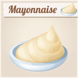 Mayonnaise. Detailed Vector Icon Stock Images