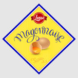 Mayonnaise Label Stock Photo