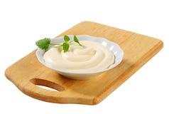 Mayonnaise salad dressing Stock Image