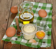 Mayonnaise sauce Stock Images