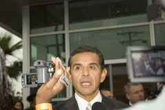 Mayor Antonio Villaraigosa Royalty Free Stock Image