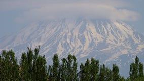 Mayor Ararat, el pico más alto en el monte Ararat almacen de metraje de vídeo
