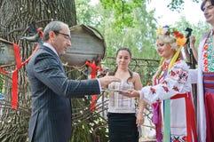 Mayor ativo de Gennady Kernes de Kharkov Fotos de Stock Royalty Free