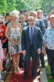 Mayor ativo de Gennady Kernes de Kharkov Fotos de Stock