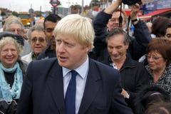 Mayor Boris Johnson de Londres Fotos de Stock