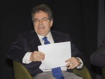 Mayor catania city enzo bianco Royalty Free Stock Images