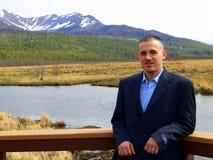 Mayor de High School secundaria en Alaska Fotografía de archivo libre de regalías